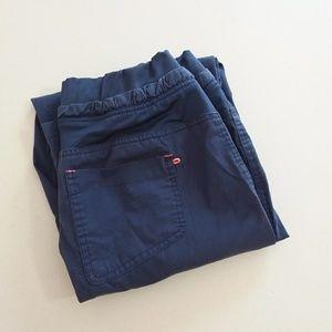 Med Couture E-Z Flex Navy Blue Scrub Pants